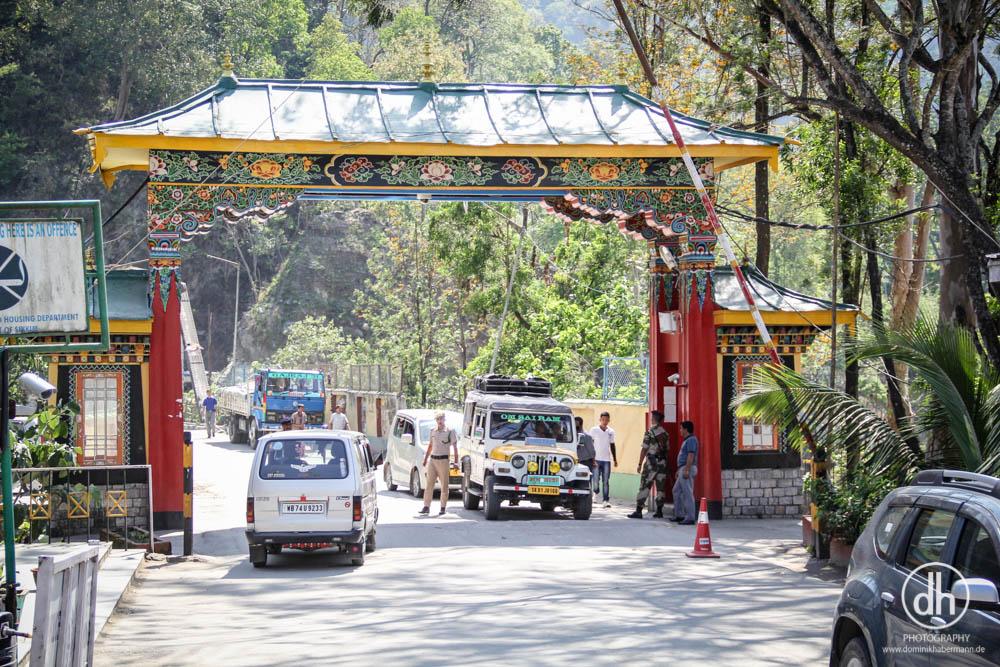Grenze Sikkim