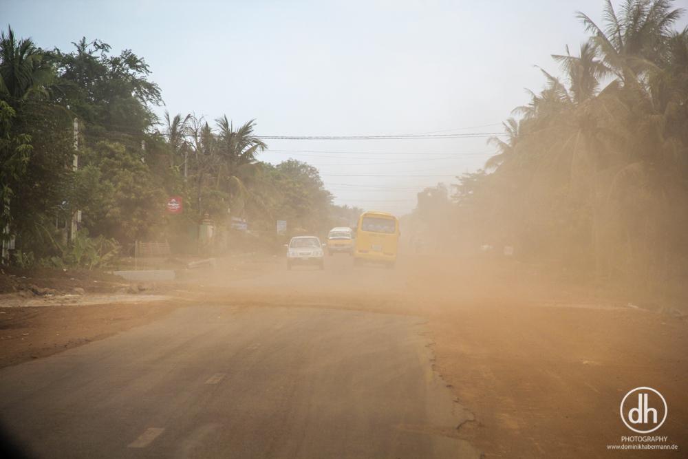 Busfahrt Siem Reap --> Phnom Penh