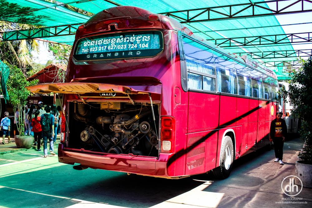 Busfahrt Phnom Penh --> Sihanoukville