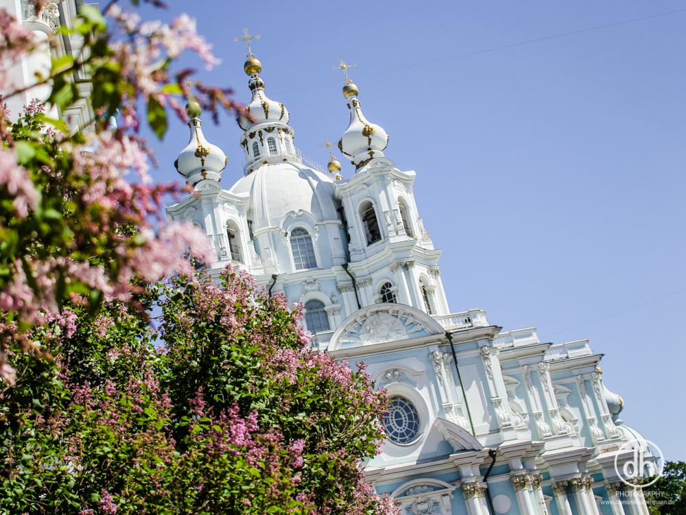 St. Petersburg - Smolny Kathedrale