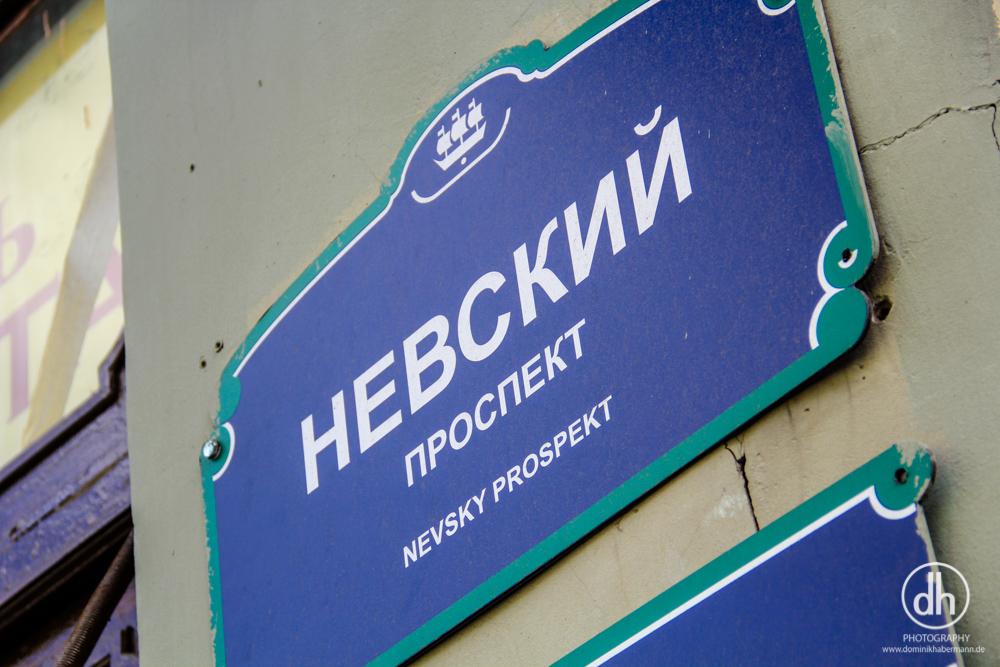 St. Petersburg - Nevsky Prospekt