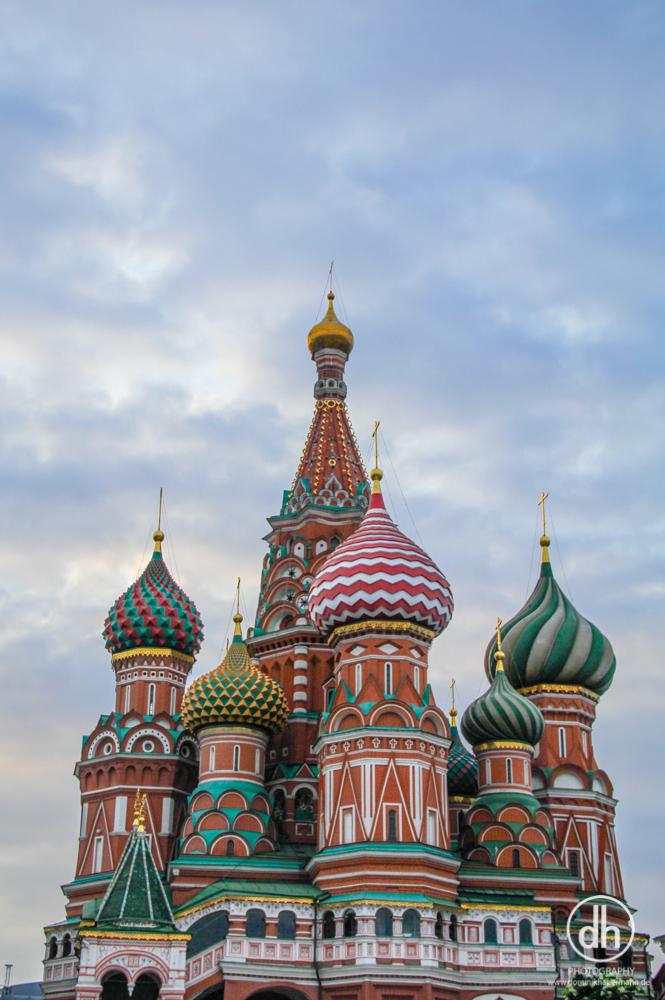 Moskau - Basilius Kathedrale