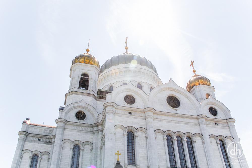 Moskau - Christ-Erlöser-Kathedrale