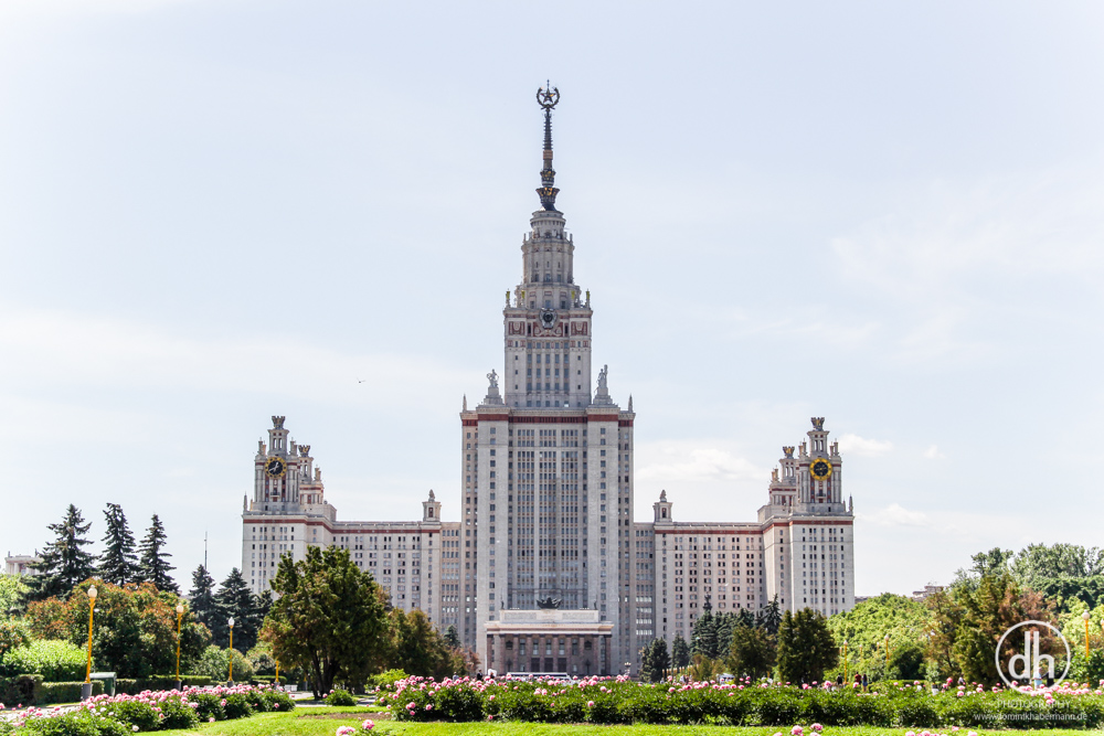 Moskau - Stalinschwestern / Zuckerbäckerbauten