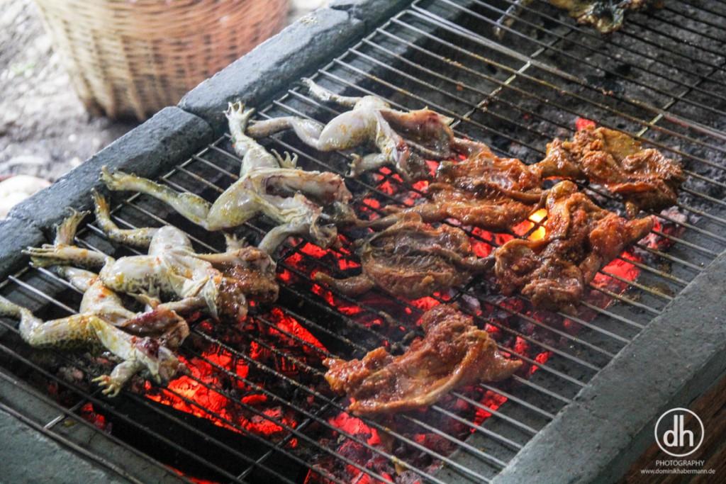 Mekong Delta - Lunch: Frosch, Ratte, Schlange