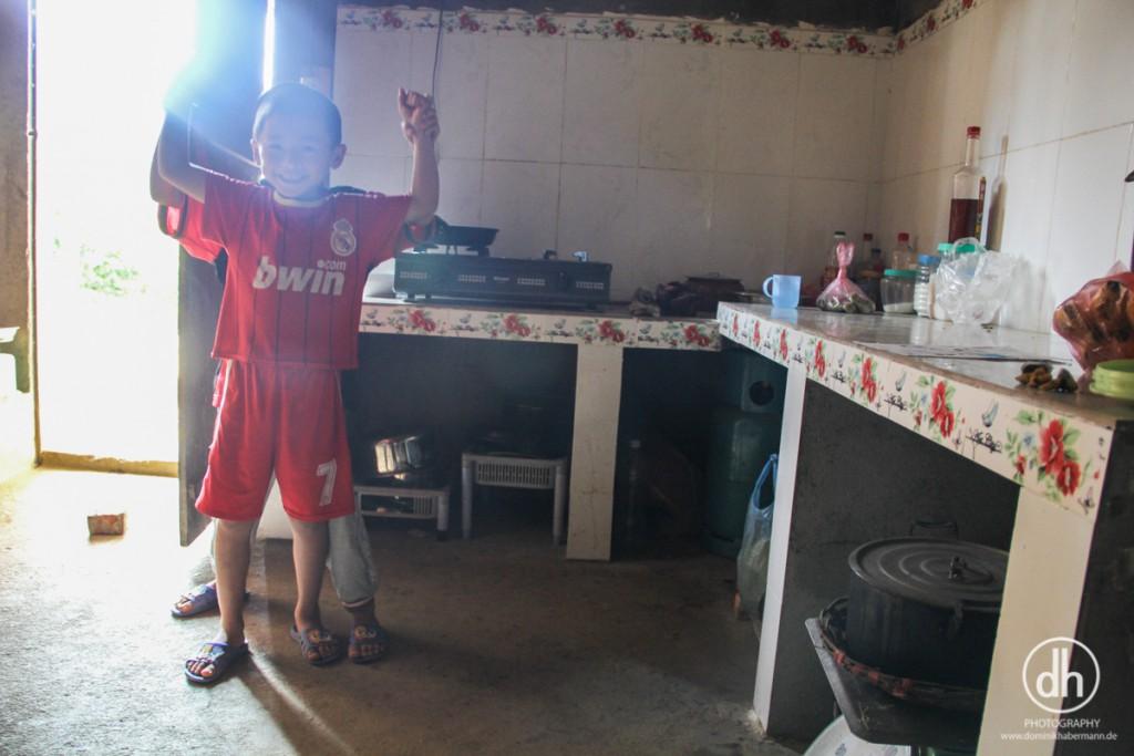 Bac Ha - Homestay kitchen