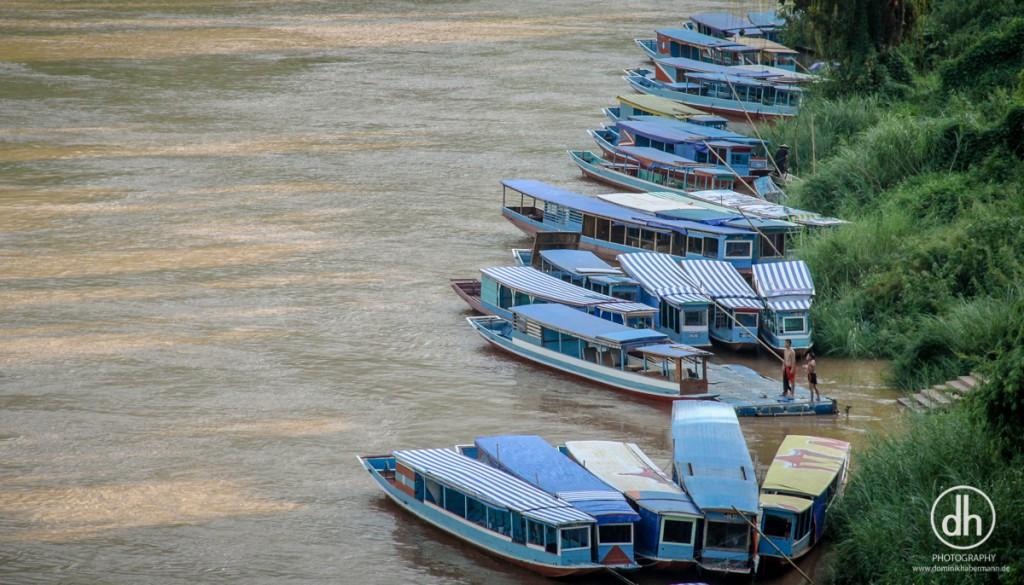 Nong Khiaw - Slowboats