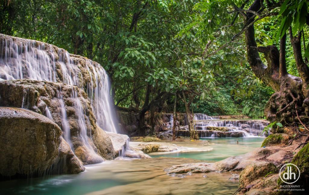 Luang Prabang - Kuang Xi Wasserfall
