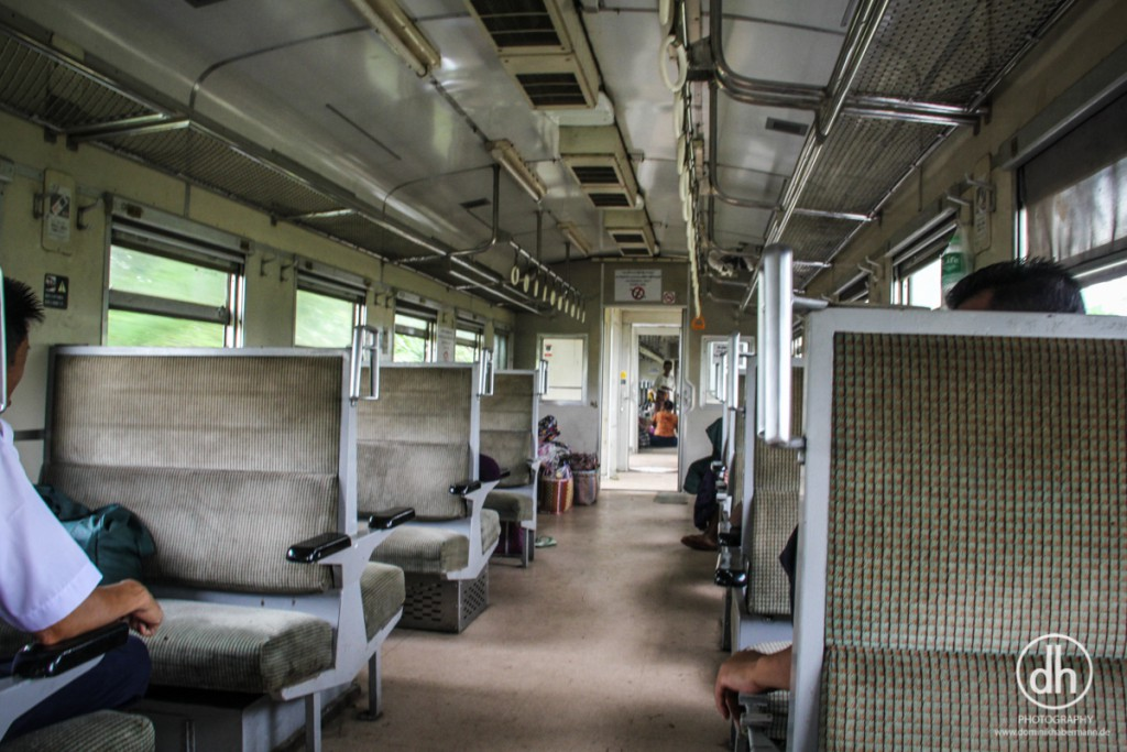 Zugstrecke Bagan --> Mandalay