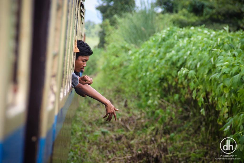 Zugstrecke Mandalay --> Hsipaw