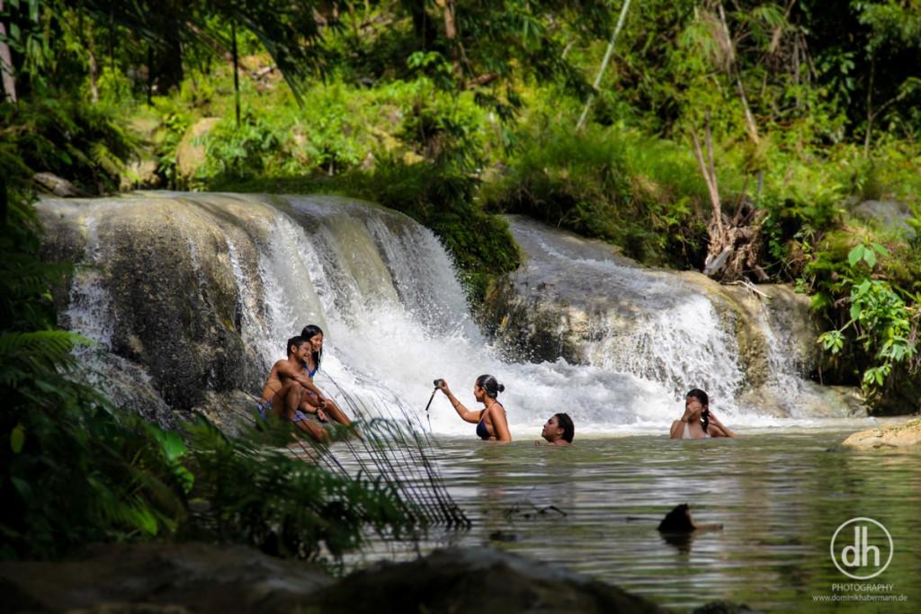 Siquijor - Wasserfälle zum Baden
