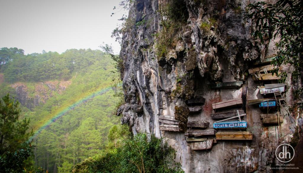 Sagada - hängende Särge