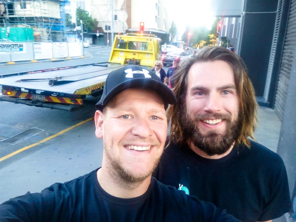 Marcel and me, Brisbane
